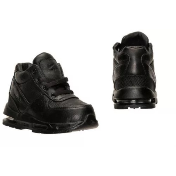 purchase cheap ea463 822af Nike Toddlers (TD) Air Max Goadome Blk Blk 4c